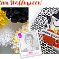 Invitation à créer 4enscrap halloween
