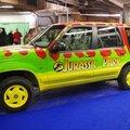 L'un des 4x4 de Jurassic Park