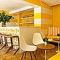 Un hotel jaune soleil ... miami beach