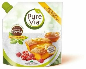 sachet stevia PURE VIA poudre cristallisee