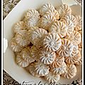 Gâteaux à la maîzena & à la noix de coco