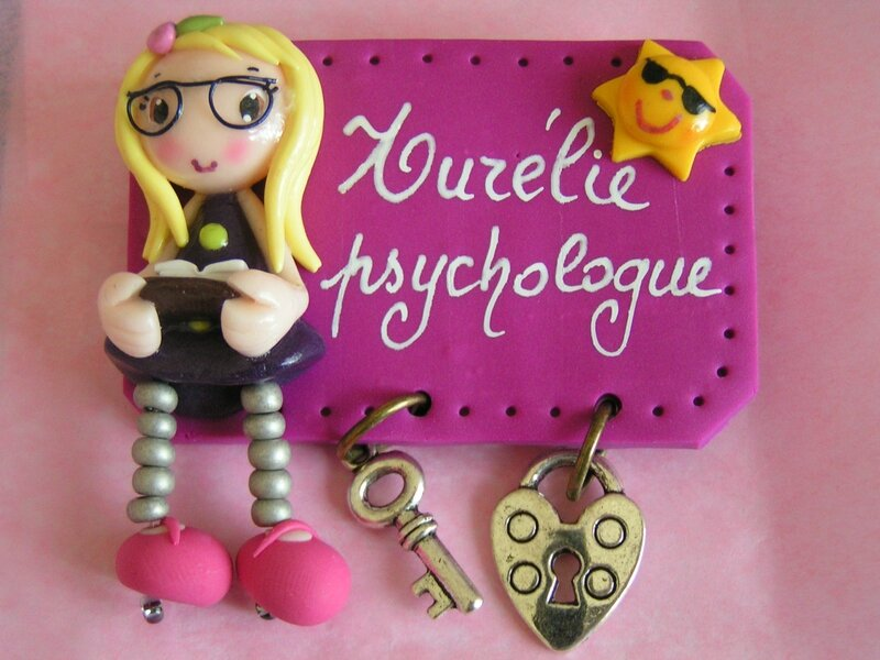 badge psychologue