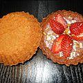 Cookies tartelettes à la fraise