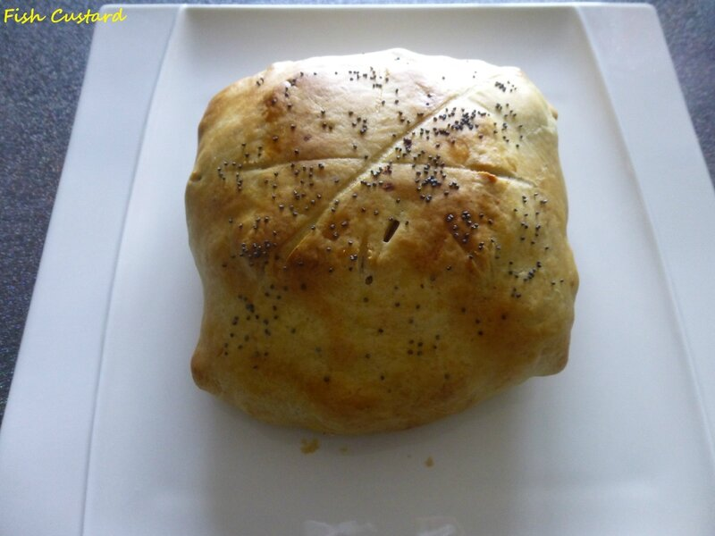 Camembert en croûte aux lardons et pommes de terre (5)