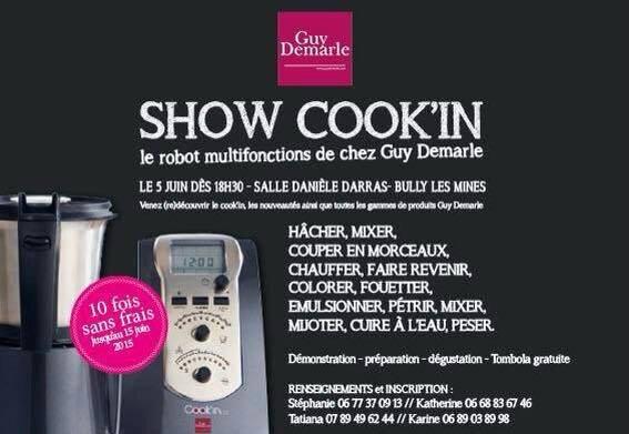show Cookin 5 juin