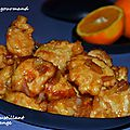 Poulet croustillant à l'orange