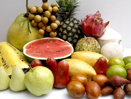 Thai_Fruits_Mango_Guava_Baby_Banana_Pineapple_