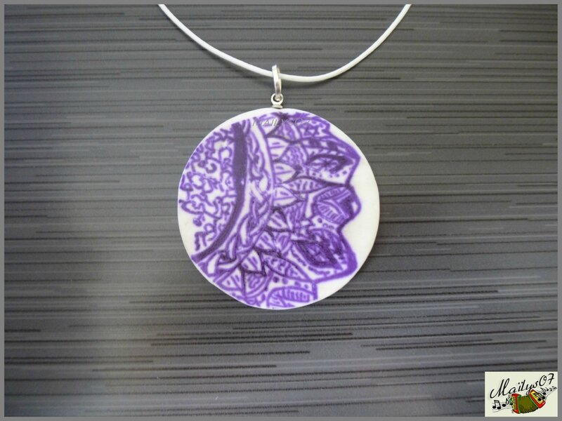 collier zentangle 2