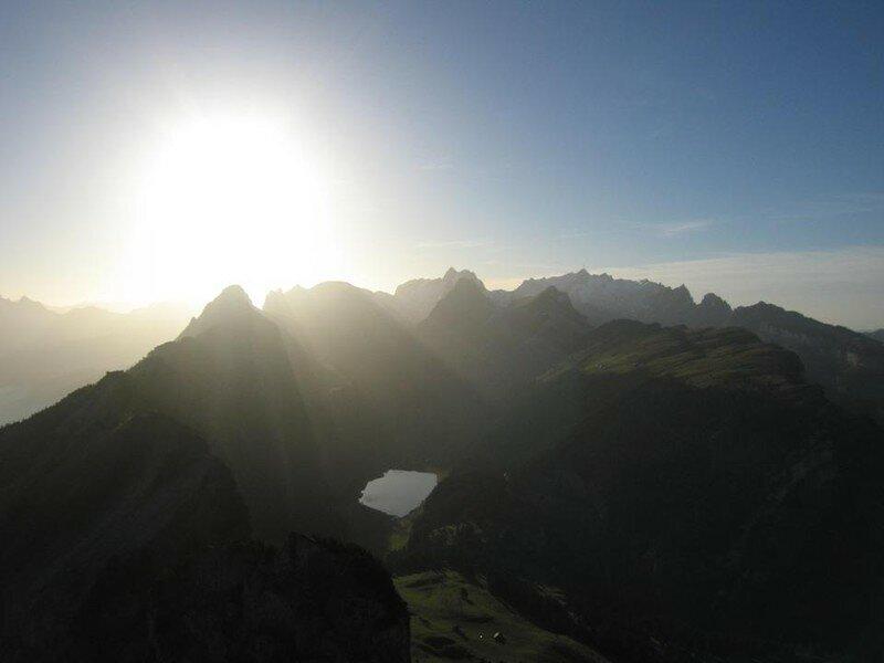 Alpstein depuis Hoher Kasten