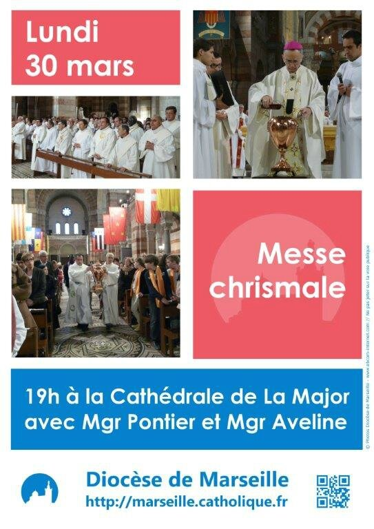 2015 Affiche messe chrismale