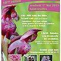 La fête de l'orchidée, c'est le 1 er mai et c'est à saint-arailles !