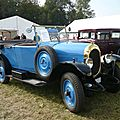 Chenard et walcker type y3 cabriolet 1924