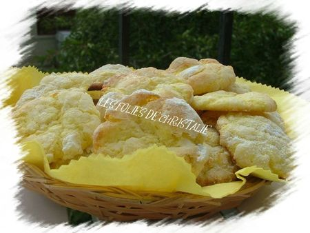 Biscuits craquelés citron 7