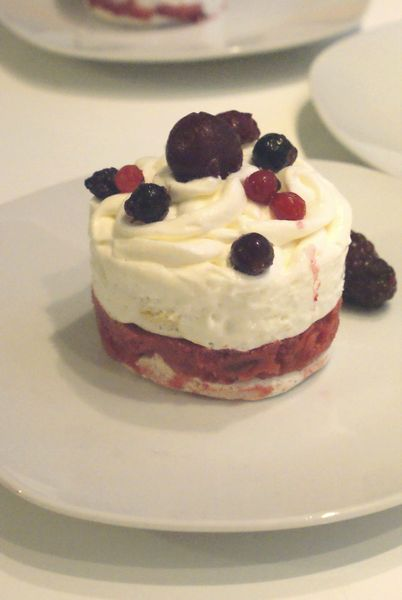 vacherin fruits rouges