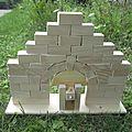 Une arche romane