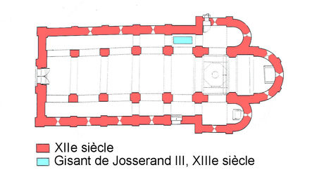 Brancion__glise_Saint_Pierre_plan_1
