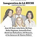Don't miss it ! l'incroyable inauguration de la ruche les 3 & 4 octobre !