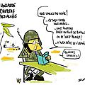 Hollande et les allis au Mali