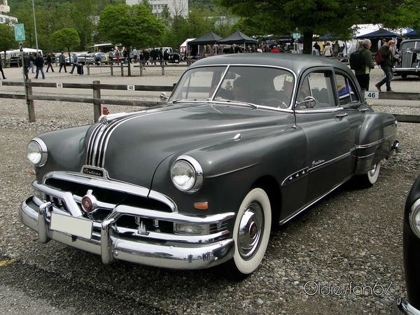pontiac chieftain 4door sedan 1951 a