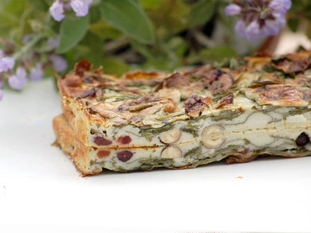 Cheesecake_aux_epinards__roquefort__noisettes_et_cranberries_013