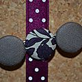 Barrette/purplely