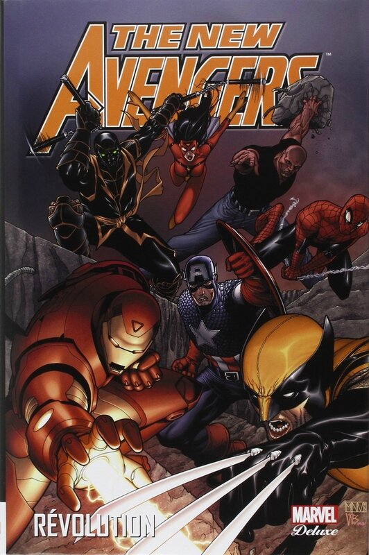 marvel deluxe new avengers 03 révolution