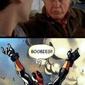Deadpool Boobies