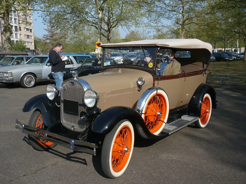 FORD Model A 4door Phaeton 1928 Strasbourg (1)
