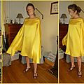 robe cape jaune1