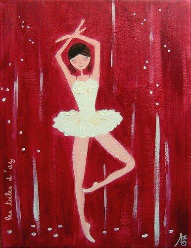 La danseuse 27x35