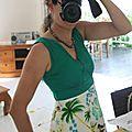 Cocotiers, hibiscus et vahinés pour une (très) longue robe