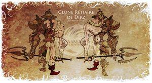 Clone rétiaire de Dirz de Romain Baudy