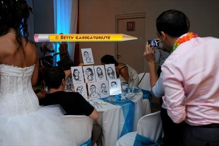 caricaturiste mariage