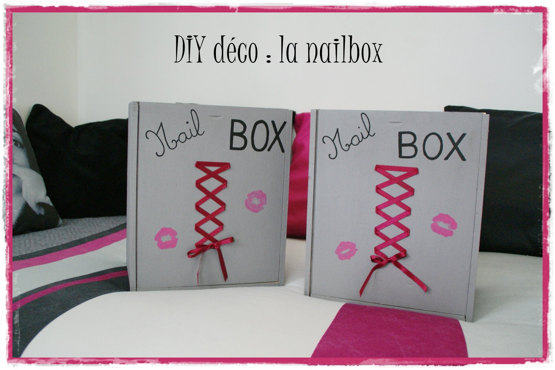 diy d co chambre d 39 ado des nailbox les p 39 tites d cos de lolo. Black Bedroom Furniture Sets. Home Design Ideas