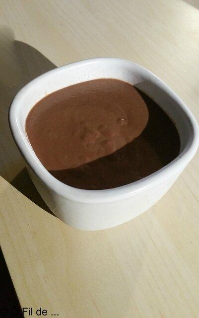 Crémes au chocolat/caramel