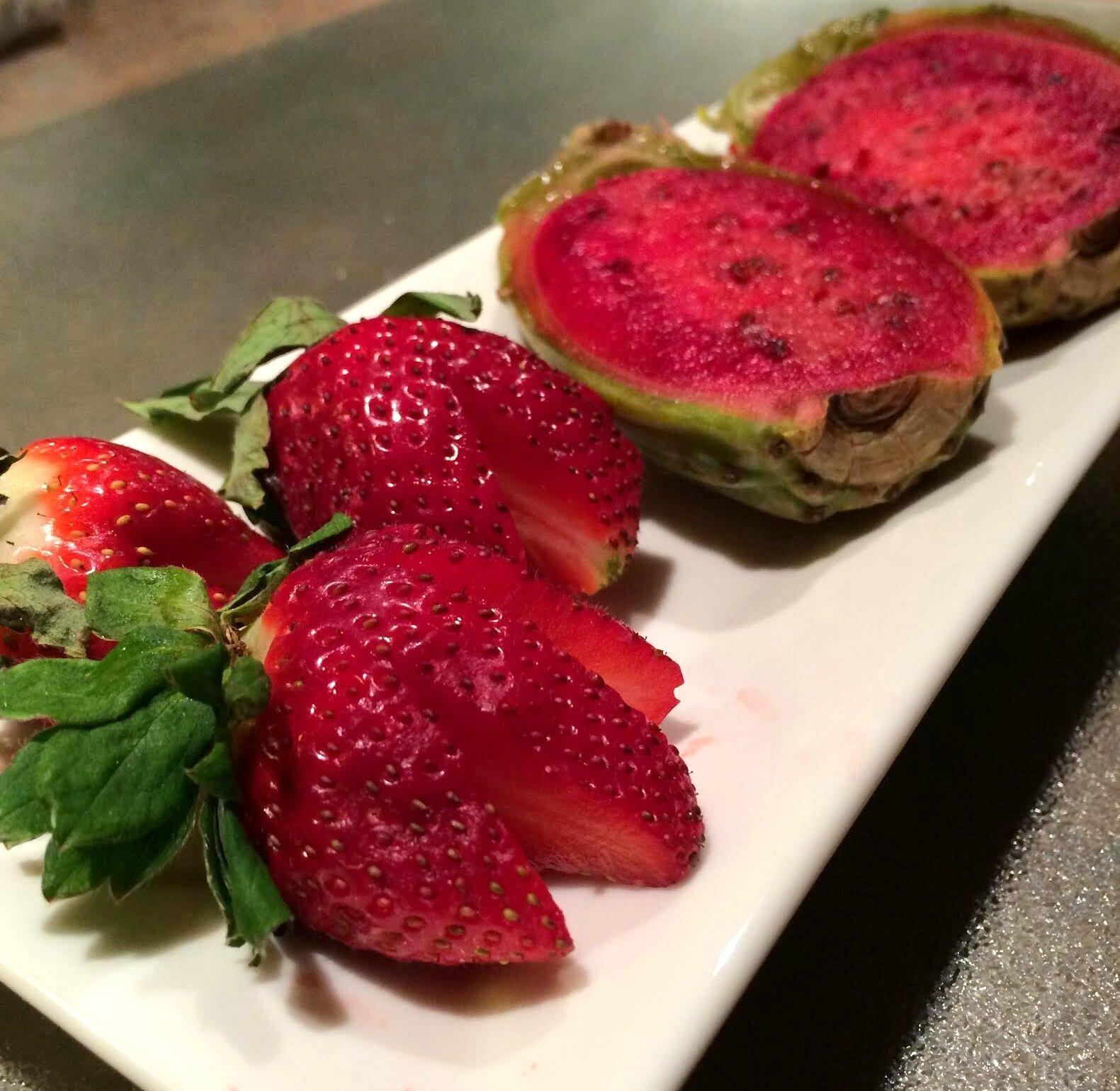 D couverte fruit e la famille gerdel - Comment manger une figue de barbarie ...