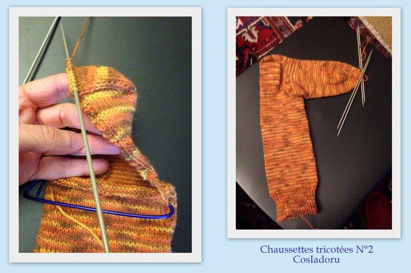 Chaussettes tricotées7
