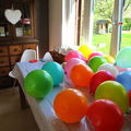 Un anniversaire tout en couleurs ...