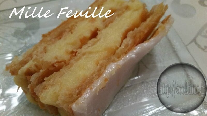 Mille feuille Thermomix 3