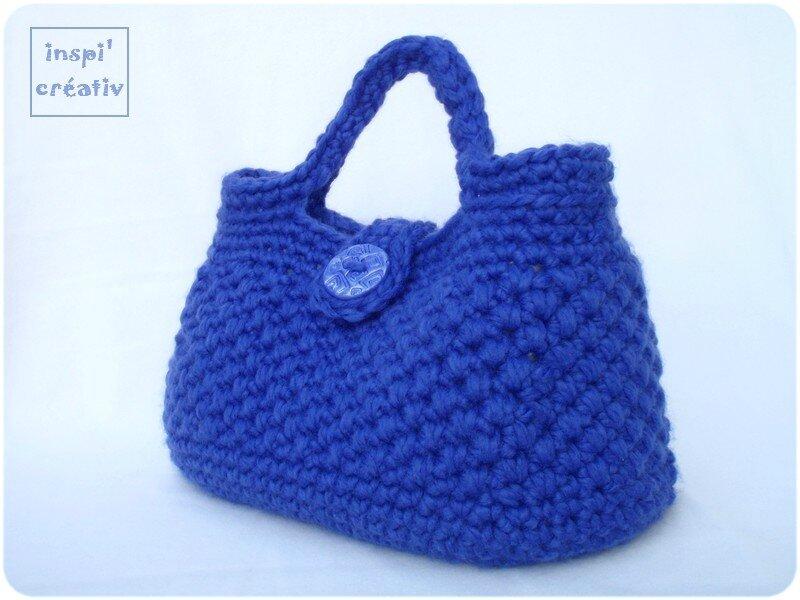 Tuto sac main au crochet inspirations cr atives - Tuto pour creer un sac en crochet ...
