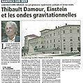 L'ndépendant, articles sur la conférence de thibaut damour (par yves andrieu correspondant local)