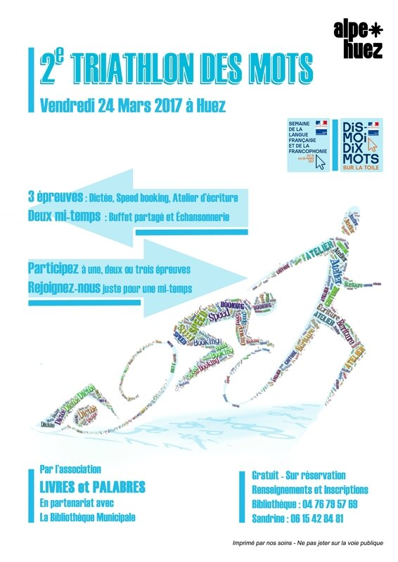 2e triathlon des mots 2017