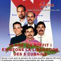 Souscription pour les cinq cubains anti-terroristes emprisonnés aux états-unis