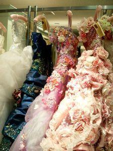 Robes très fleuries 1000