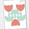 Tuto : tulipes en papier à imprimer