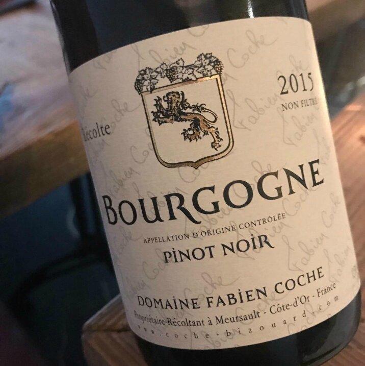 Bourgogne Pinot Noir F