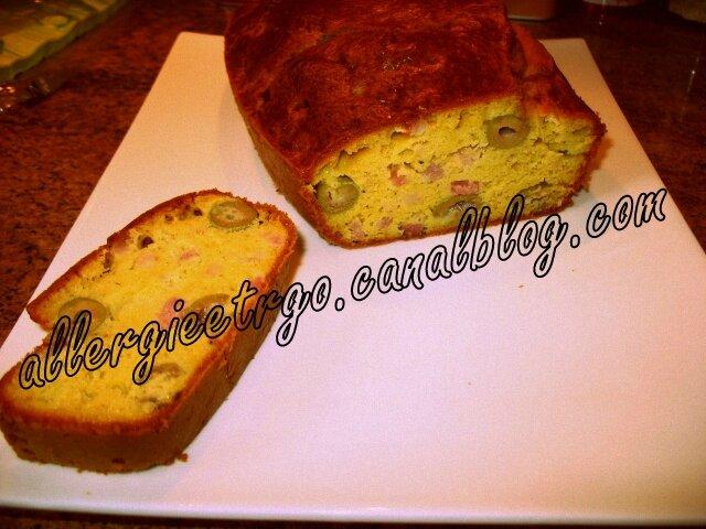 cake olive et jambon