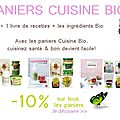 Panier cuisine Bio -10%