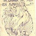 Un coq triomphant annonce l'année 1917...
