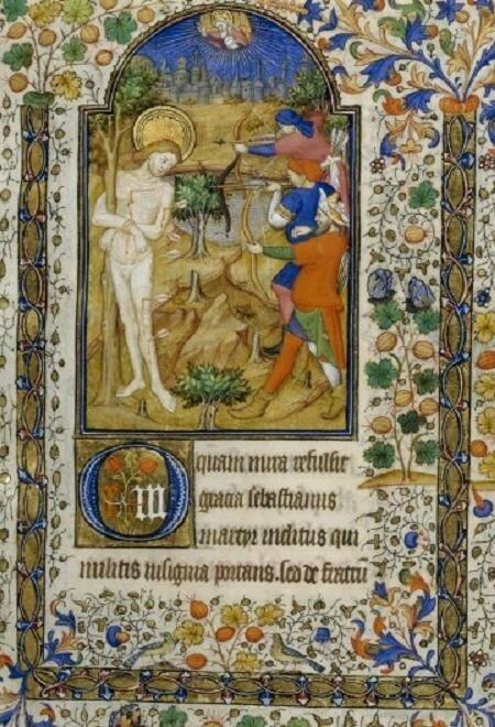 10857 MAITRE DE MARGUERITE D'ORLEANS